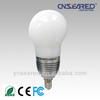 CE RoHs FCC E14 aluminum base 7w led light bulb