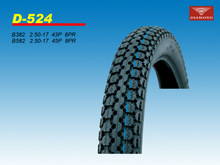 New antiskid Motor bike tire 2.50-17 6PR
