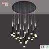 2014 new LED pendant acrylic chandelier 132W