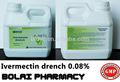 La ivermectina solución oral 0.08% productos veterinarios para las aves de corral