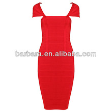 Hot selling Classic bandage dress body shaping H009