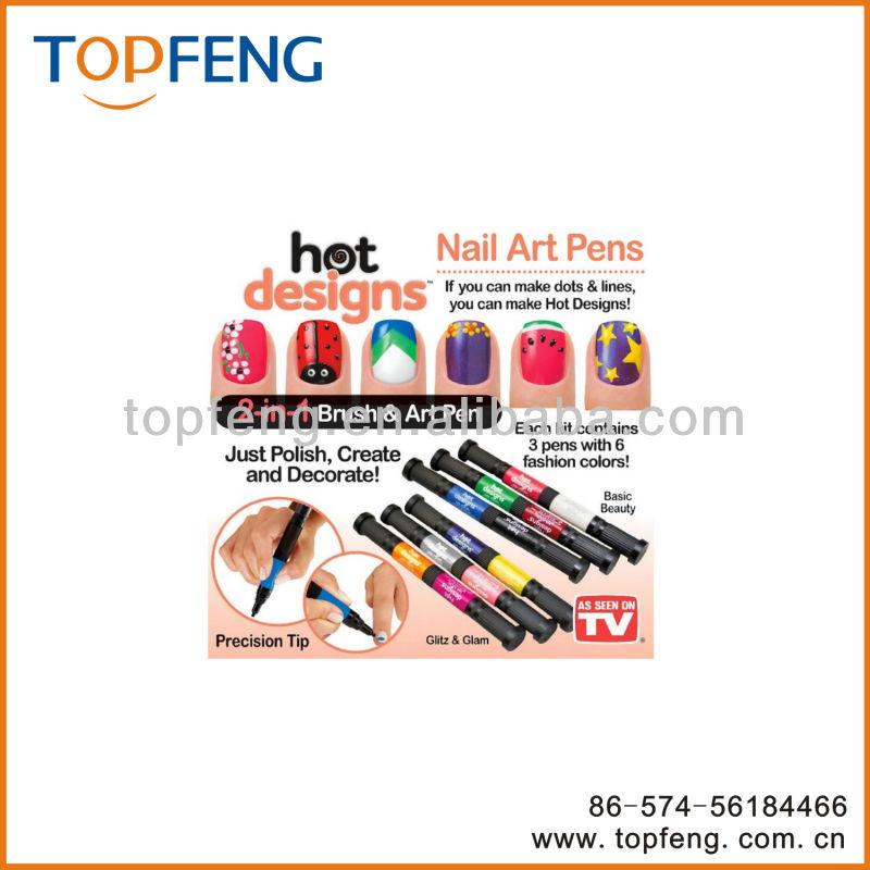 6 color starter kit hot design nail art basic kit : Color starter kit hot design nail art basic designs