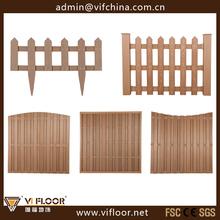 Plastic Wood Garden Border Fence Boards Design