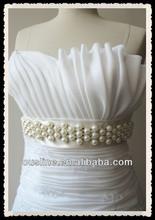Bridal Pearl Beaded Belts Wedding Sash Belt For Wedding Gown