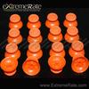 Modding Repair Part Analog Analogue Stick For PS4 Orange Thumbstick Analog Analogue Stick Mushroom Joysticks