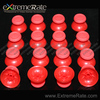 Customized Replacement Mushroom Wholesale For PS4 Controller Red Thumbstick Joysticks Repair Part Kits