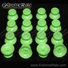 Replacement Part Custom Joysticks For PS4 Controller Green Buttons Analog Thumbstick Repair Part Kits Caps