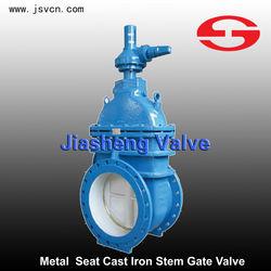 DN50-DN1600 Metal Seat Cast Iron Non-risng Stem Gate Valve