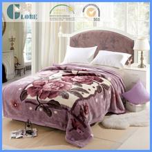home woven raschel blanket fabric