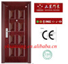 2014 New designs security steel door (High quality, competitive price)
