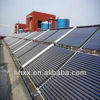 separate pressurized water heater solar collector(keymark)