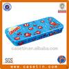 Custom China supplier student stationery metal pencil box