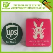 Best Selling Cheap Logo Printed Customized Air Car Fresheners
