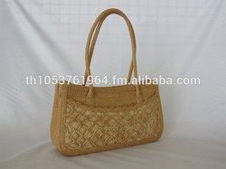 Unique Gorgeous Thailand Fashion Woven Straw Sisal Handmade bags