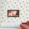 DF6900 Modern Vinyl Wallpaper/waterproof wallpaper for bathrooms