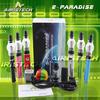 colorful wax jars E-paradise pen kit vapor and herb vaporizer pen kit 2013 ago dry herb vaporizer