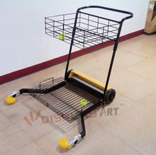 tennis collecting cart machine