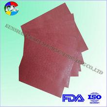 colored aluminum foil chocolate logo sheets