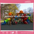 صغيرة آمنة تعيين ملعب في الهواء الطلق لعبة أطفال الشريحة البنود ap op30807 للمدرسة