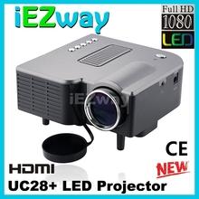 new mini home theater cheapest uc28 mini led projector hdmi home theater