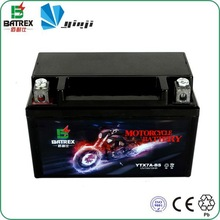 Made In China 12 Volt Dry Battery For Motorcycle, Lead Acid Motorcycle Dry Battery