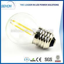 christmas light 2300K-6500K 1w 2w 3w G45 E26 E27 led filament bulb led light bulb alibaba usa