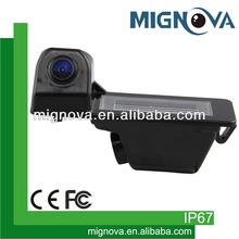 Super Wide Angle Oem Rear View Lamp Hidden Camera For Nissan Venucia 2012