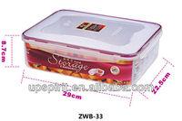 BLEST 3.5L PP Fashional Micro Fresh Box, Micro Fresh Box with Lock Lid, Vacuum Box