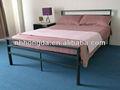 el diseño simple de hierro negro forjado camas