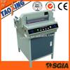 China a4 size paper cutting machine TX-450VS+