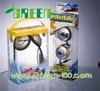 clear plastic headphone packaging