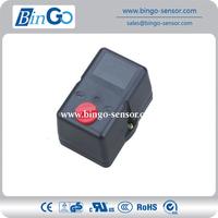Air compressor pressure switch/water tank