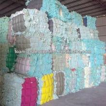 High Quality Virgin Pure Blue Rebond Scrap Foam Sponge