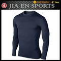 La impresión personalizada de compresión de la camisa de manga larga de la armadura camisetas al por mayor bajo $15