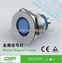 CMP Installation diameter 28mm Stainless Steel vandalproof LED Signal Lamp For Truck amp Trailer