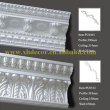 Original manufacturer Crown Moldings plastic cornice moulding
