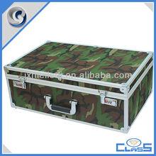 MLDGJ615 Army Green Excellent Quality Empty Aluminum Flight Equipment Tools Carrying Case