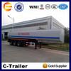 hot selling 3 axles oil tanker semi trailer 42000L