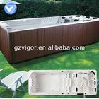 acrylic outdoor used swim spa / spa swimming pool