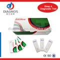 Strep prueba rápida kit/infecciosas strep una prueba de diagnóstico rápido