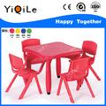 Ce muebles de jardín de infancia de mesa y silla