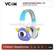 VCOM Brand 6-12 years old DIY Children Headphone for kids gift