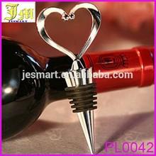 Brand New Elegant Heart-shaped Red Wine Bottle Stopper Twist New 2014