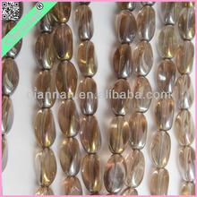 Millefiori Slice Lampwork Beads, Pretty Crystal Twist Beads