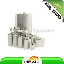 18/8 FDA stainless steel hip flasks