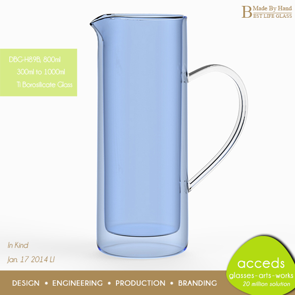Heat resistant pyrex water glass pitcher jug - Heat proof pitcher ...