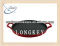 2014 novo produto ferro fundido frigideira panela / ferro fundido frigideira