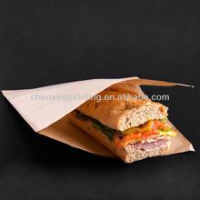 Brown Kraft paper double open bag accept bespoke