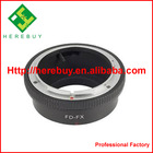 Photographic Equipment Lens Adapter Ring for Canon FD Mount to Fuji X FX X-Pro1