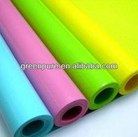 customized colorful EVA plastic anti-slip shelf liner,kitchen drawer liner